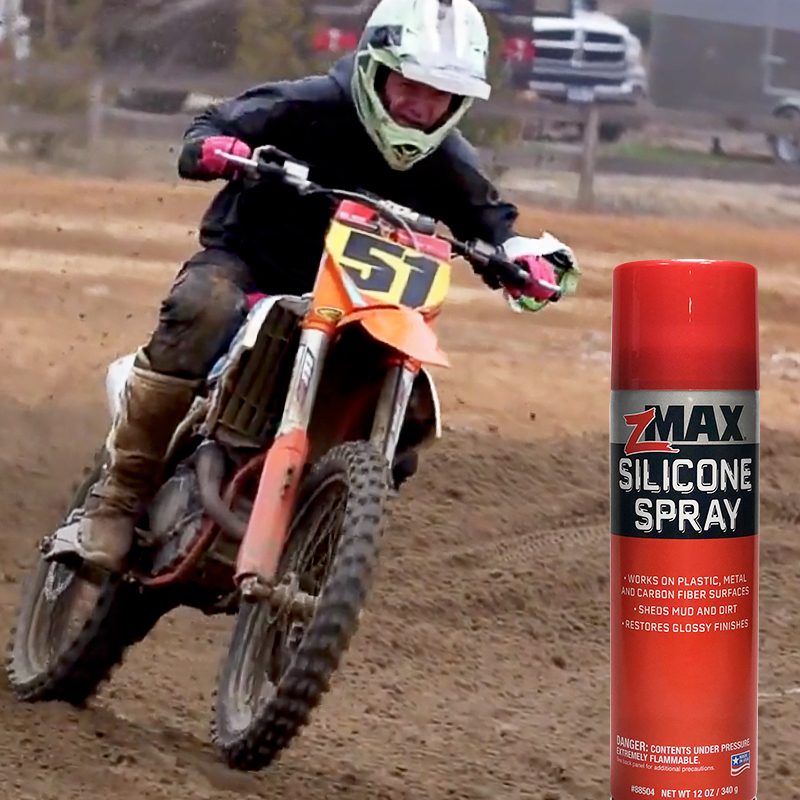 ClubMX loves zMAX Silicone Spray